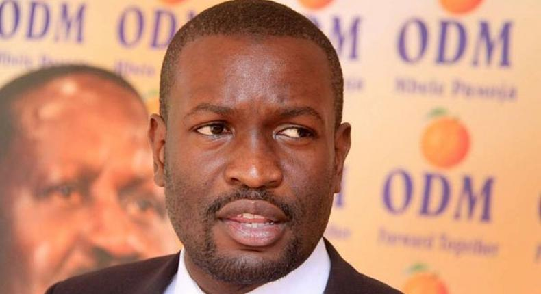 I meant I will sign not resign - ODM's Edwin Sifuna hilarious response after losing bet to Thirdway Alliance