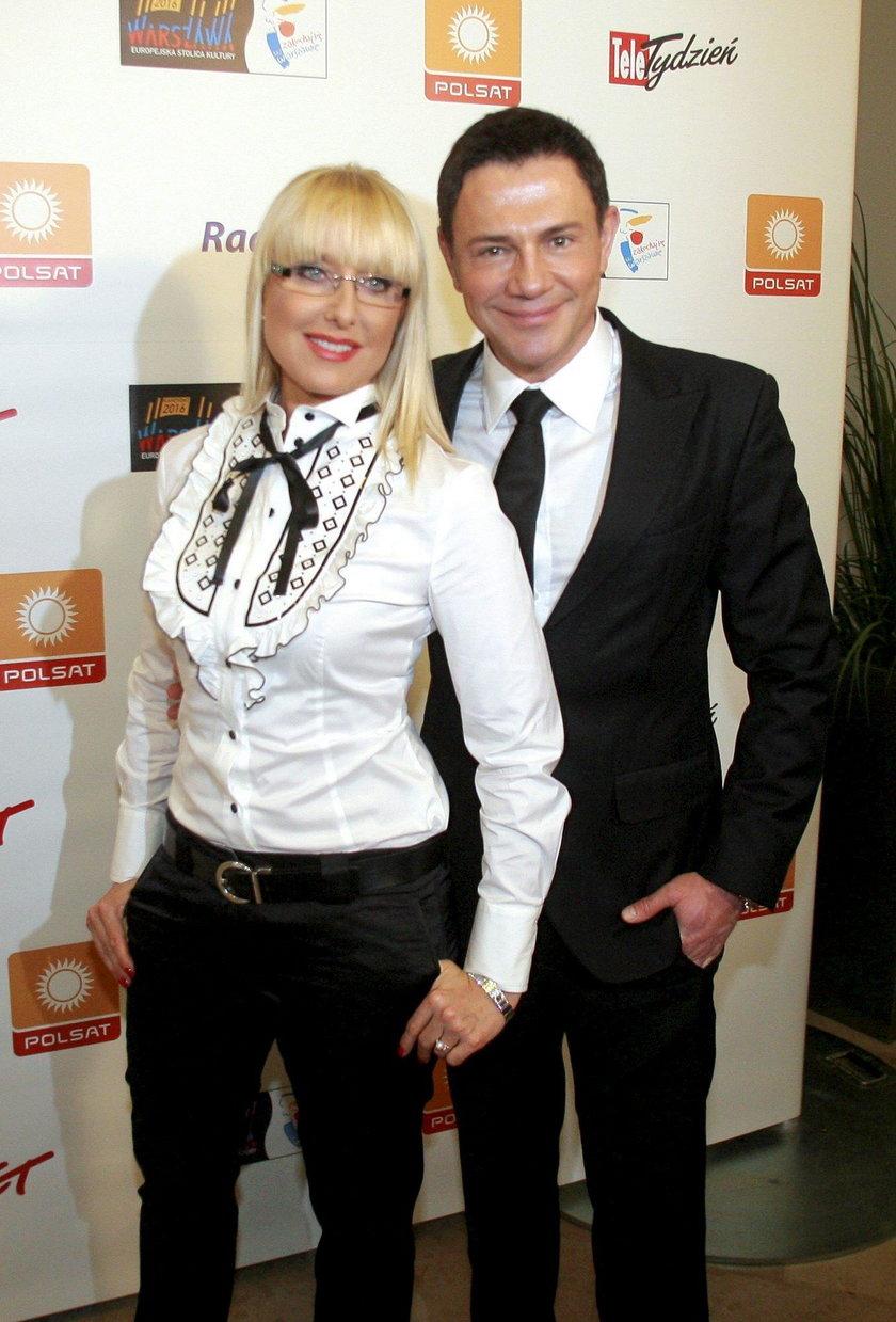 Agata Młynarska i Krzysztof Ibisz