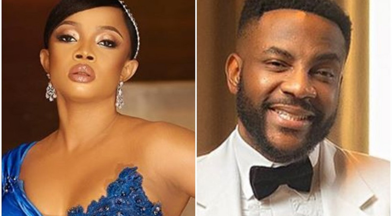 #AMVCA7: Here's how Toke Makinwa and Ebuka got our attention as their red carpet hosting duties