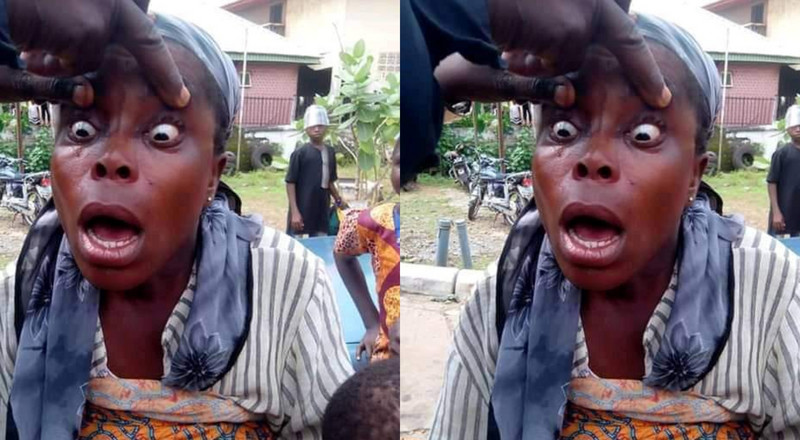 'Fake' blind beggar nabbed and her eyes look clear