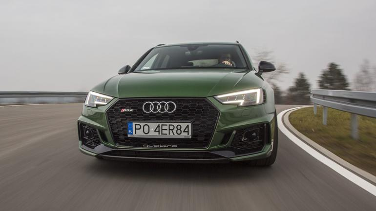 Audi RS4 Avant - kombi z ogniem w ...
