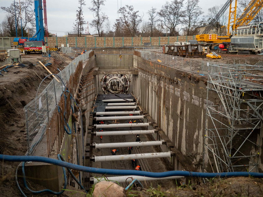 Katarzyna drąży tunel pod Łodzią.