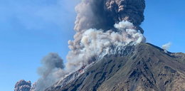 Wybuch wulkanu we Włoszech, 1 osoba nie żyje