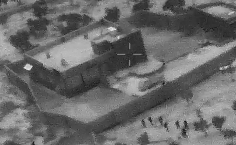 Atak na kryjówkę lidera ISIS