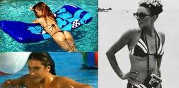 Gwiazdy w bikini kiedyś i dziś. Które wyglądają lepiej?