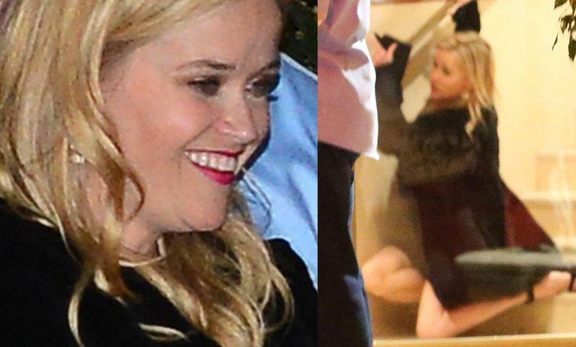 Reese Witherspoon zaszalała na urodzinach Aniston