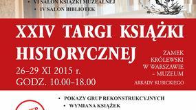 Dziś rozpoczęły się XXIV Targi Książki Historycznej w Warszawie