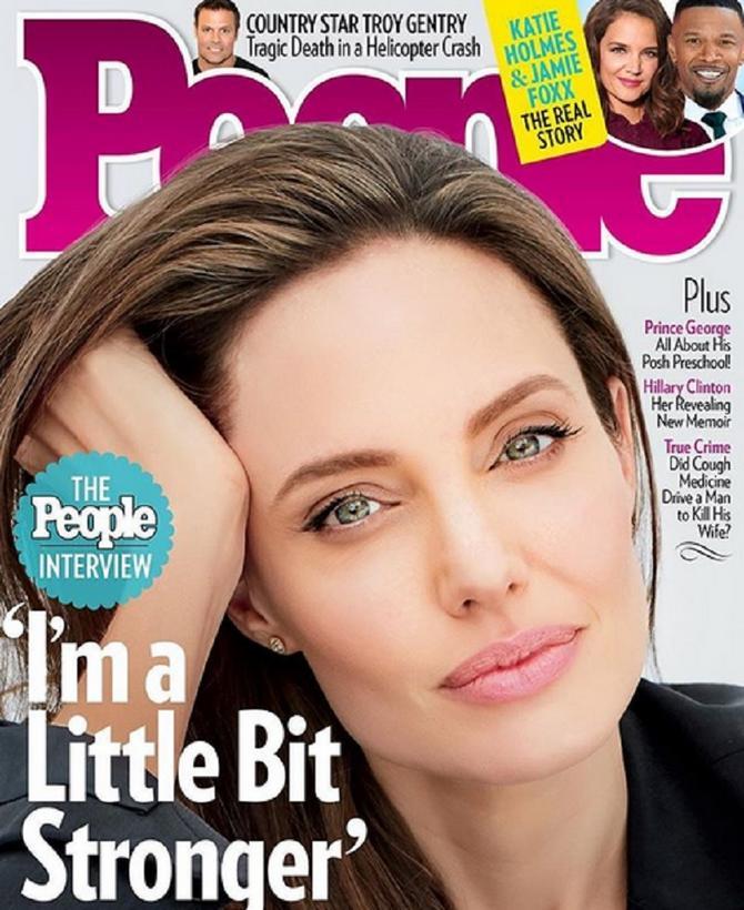 Anđelina Žoli na naslovnoj strani novog broja magazina