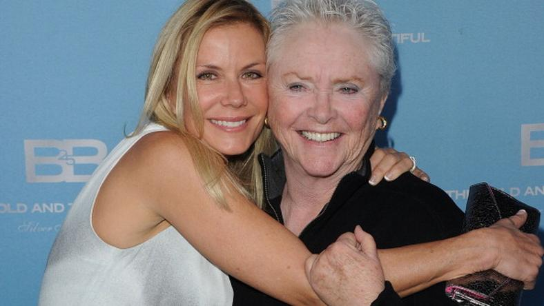 Susan Flannery i Katherine Kelly Lang (fot. Getty Images)