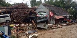 Tsunami uderzyło w Indonezję. Ofiary śmiertelne, setki rannych