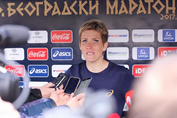 olivera jevtić maraton 2017