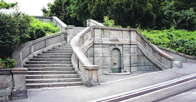 Jelisaveta Načić - barokne stepenice preko puta Kalemegdana