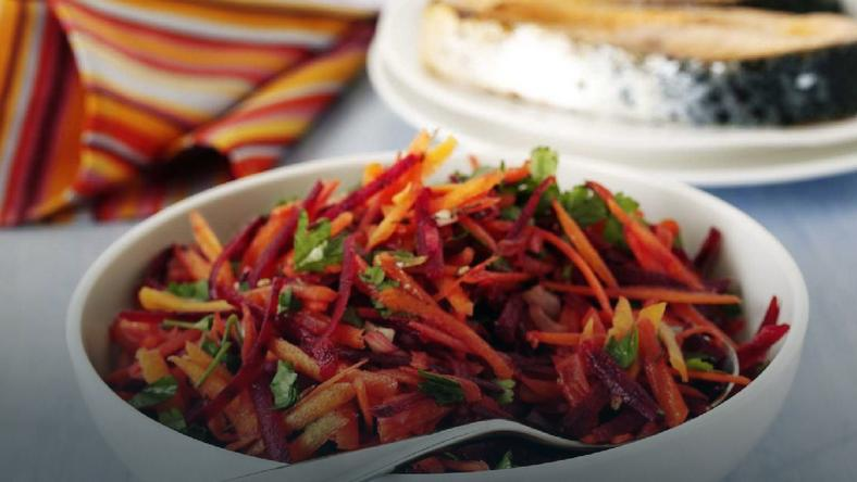 Carrot and Beetroot Salad  (Credit - BBC Good Food)