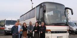 Schowali autobus bo nie dostają pensji