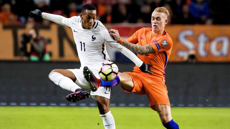 Rick Karsdorp i Anthony Martial