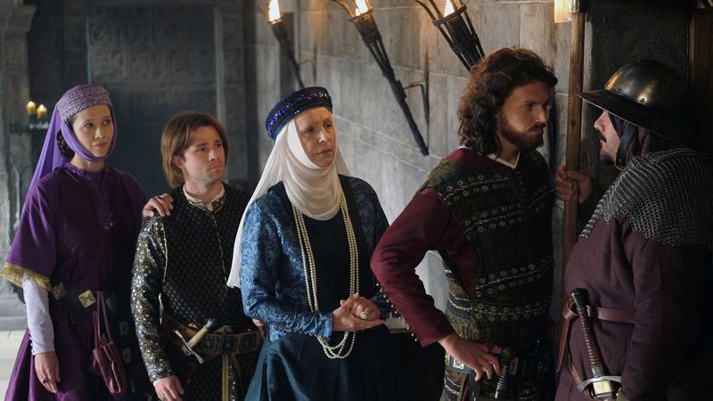 """Korona Królów"": kadr z serialu"