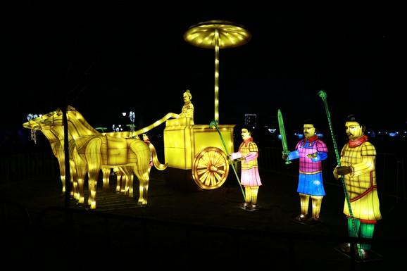 Festival svetla na Kalemegdanu