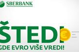 Sberbank-Štedi gde euro više vredi