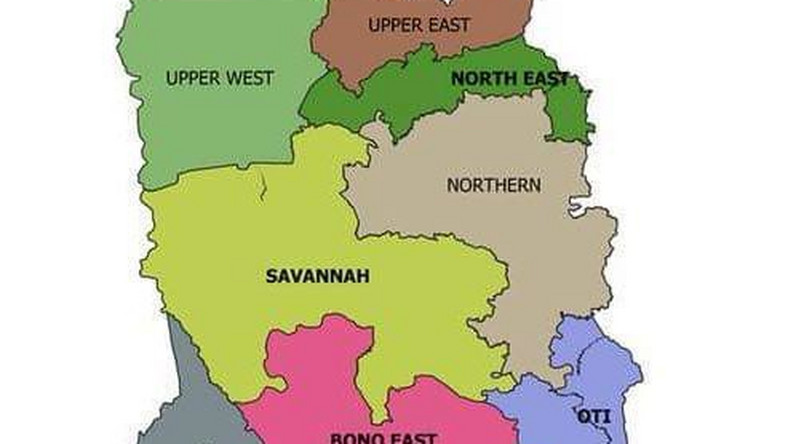 The new map of Ghana after referendum [Photo] - Pulse Ghana