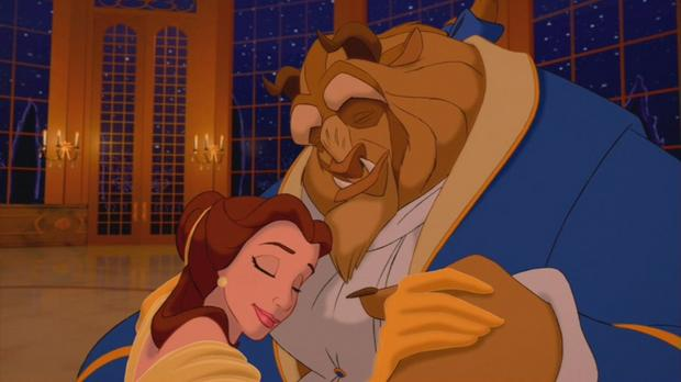 """""""Piękna i Bestia"""": kadr z animacji Disneya"""