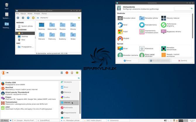 SparkyLinux - polski system operacyjny dla czytelników Komputer Świata