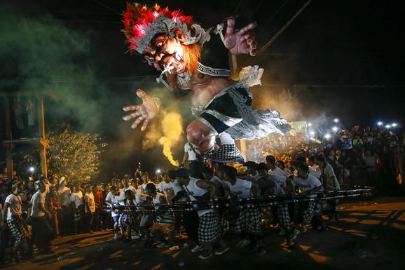 Novogodišnja parada na Baliju