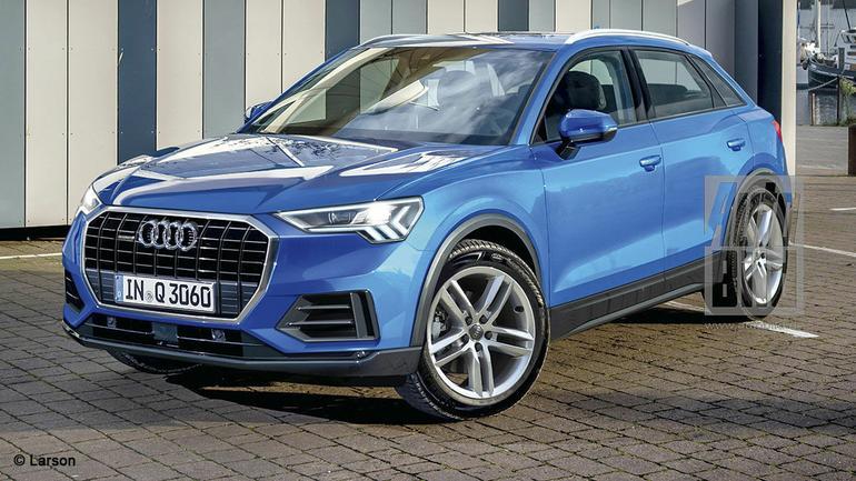 Audi Q3 - wizualizacja