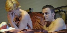 Pikantna scena łóżkowa w M jak miłość. We troje?
