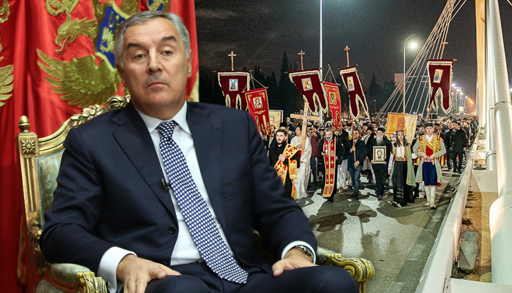 milo litije RAS tanjug predsednistvo crne gore, Anadolija Milos Miskov