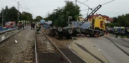 Katastrofa kolejowa w Pradze. W pociągu było 300 osób