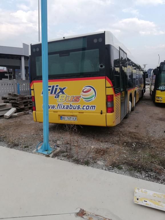 Poslednji napad zabeležen 11. januara na autobusu koji je bio parkiran kod Niške Banje