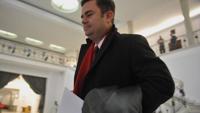 Rzecznik PiS Adam Hofman