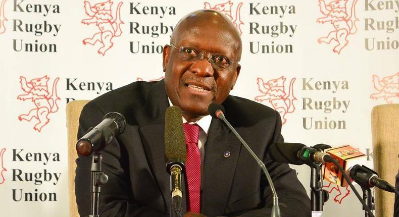 Kenya Rugby Union chairman Richard Omwella