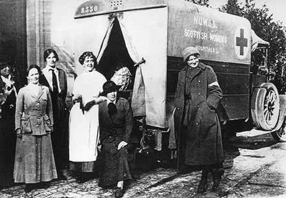 Pripadnice Bolnice škotskih žena u Srbiji za vreme Velikog rata