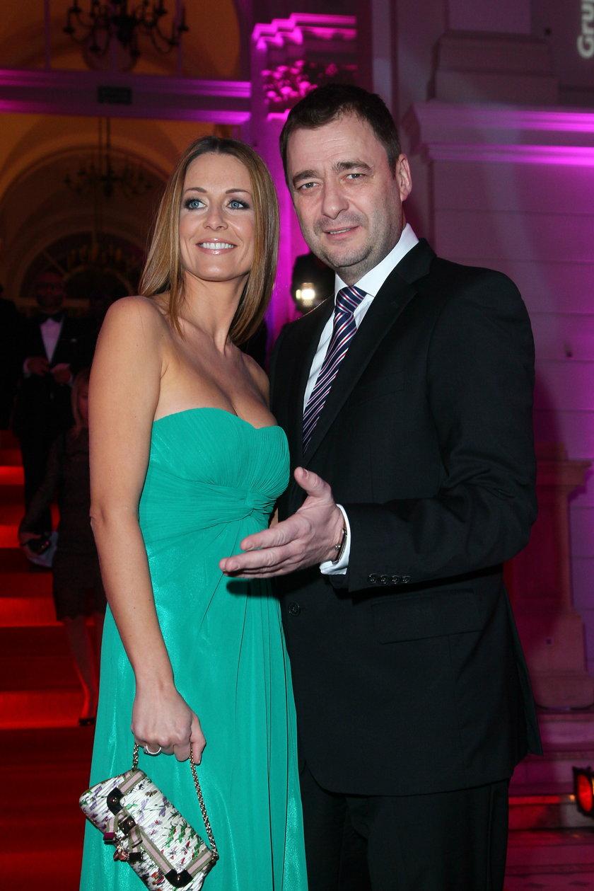 Jacek Rozenek i Małgorzata Rozenek