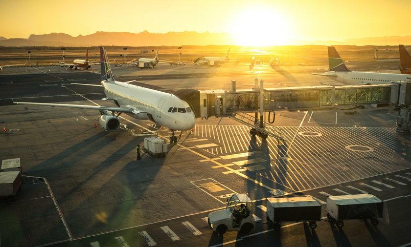 Zamieszanie na lotnisku przez gadżet erotyczny