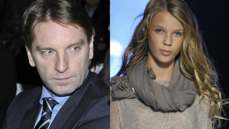 Tomasz Lis z córką Igą