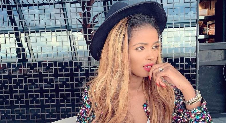 Anerlisa Muigai responds after fan accused her of lying she used gym & diet to lose weight