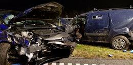 Groźny wypadek na A4 koło Rzeszowa. Trzy osoby ranne