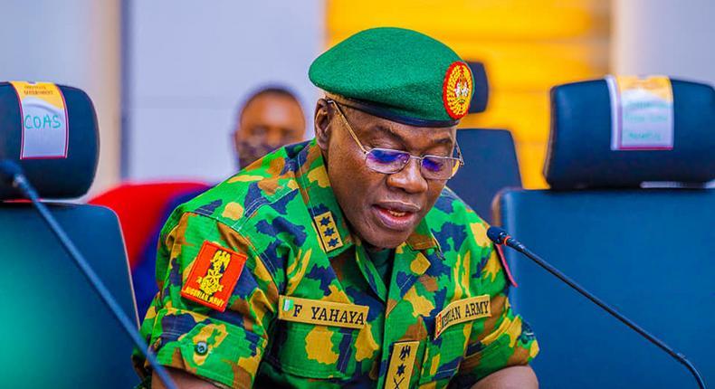 Chief of Army Staff, Lieutenant General Faruk Yahaya [OYSG]