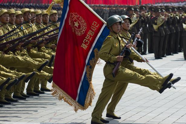 Defilada w Korei Północnej