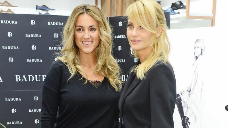 Aneta Kręglicka i Karolina Szostak na konferencji marki Badura