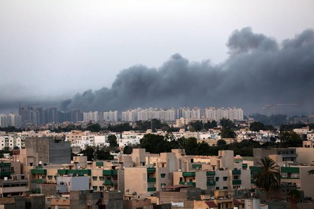 Konflikt w Libii - lotnisko w Trypolisie w rękach bojówek