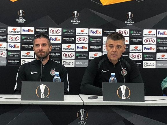 Milošević sa Zoranom Tošićem pred duel sa Astanom