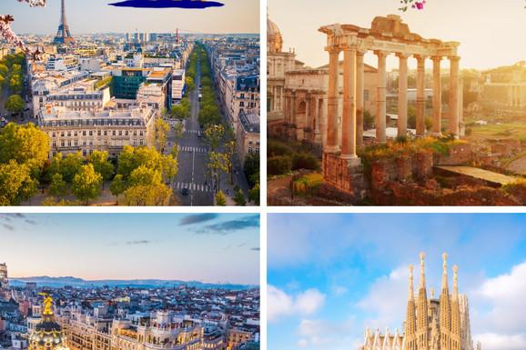 Neodoljivi evropski gradovi na korak od vas! Ovog marta evropske metropole po ceni već od 229€!
