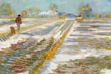 Vinsent van Gog Landscape with snow