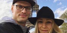 Polski siatkarz na wakacjach z ukochaną