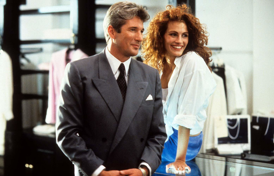 """Pretty Woman"" (1990) - kadr z filmu"