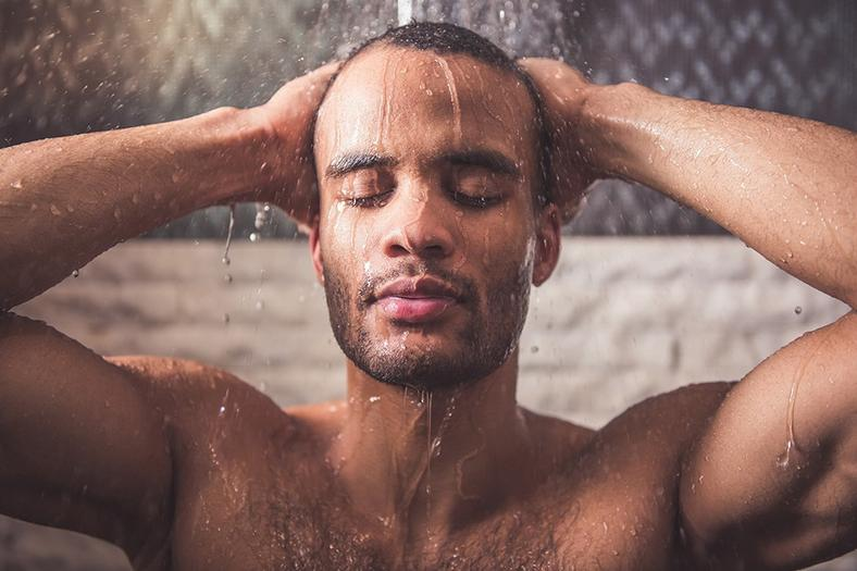Hot showers can cause your hair to thin (Courtesy)