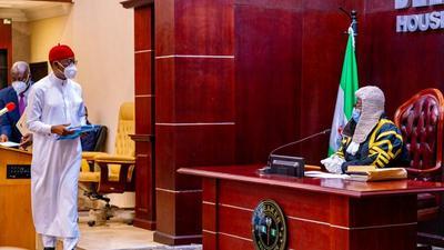 Delta Gov Okowa signs 2021 budget of N383B into law
